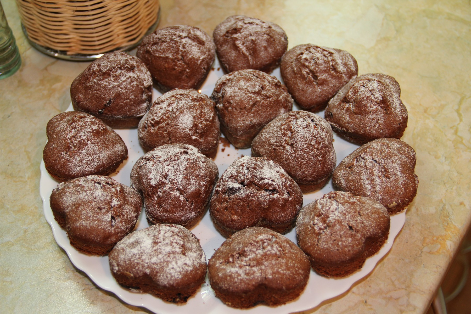 Как делать кексы в домашних условиях шоколадные 143